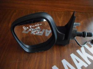 Citroen Berlingo 2002-2008 μηχανικός καθρέπτης αριστερός ασημί θερμαινόμενος