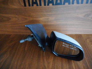 Nissan Pixo/Suzuki Alto 2008-2014 μηχανικός καθρέπτης δεξιός ασημί
