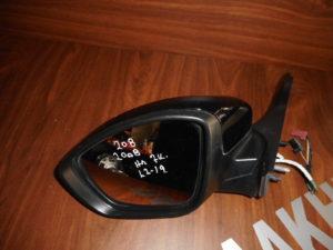 Peugeot 208/2008 2012-2019 ηλεκτρικός καθρέπτης αριστερός μαύρος 7 καλώδια