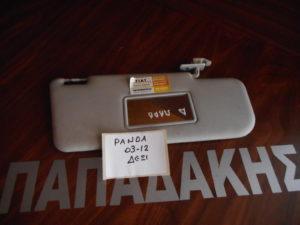 Fiat Panda 2003-2012 αλεξήλιο δεξιό