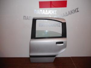 Fiat Panda 2003-2012 πόρτα πίσω αριστερή ασημί