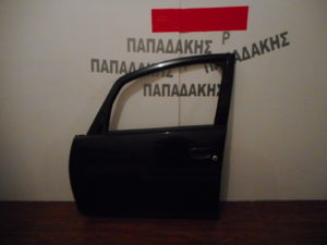 Mitsubishi Colt 2004-2012 πόρτα εμπρός αριστερή μαύρη
