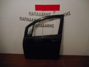 Opel Agila/Suzuki Splash 2008-2014 πόρτα εμπρός αριστερή μαύρη