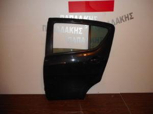 Opel Agila/Suzuki Splash 2008-2014 πόρτα πίσω αριστερή μαύρη