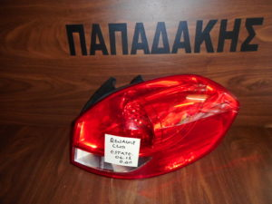 Renault Clio Estate 2006-2013 φανάρι πίσω δεξιό