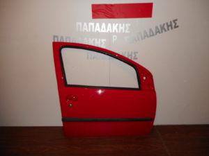 Toyota Aygo/Citroen C1/Peugeot 107 2006-2014 πόρτα εμπρός δεξιά κόκκινη