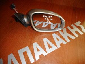 VW Passat 2002-2004 ηλεκτρικός καθρέπτης δεξιός ασημί με φλας