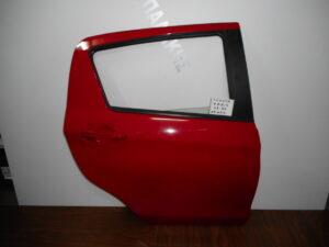Toyota Yaris 2014-2020 πίσω δεξιά πόρτα κόκκινη
