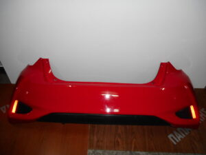 Toyota Yaris 2017-2020 πίσω προφυλακτήρας κόκκινος