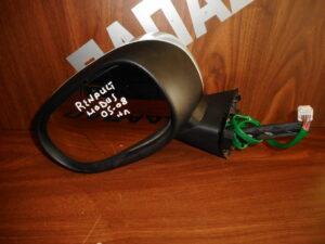 Renault Modus 2005-2008 ηλεκτρικός καθρέπτης αριστερός ασημί
